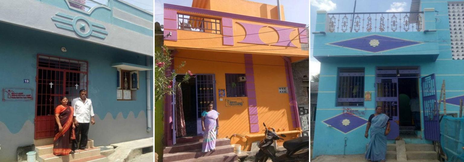 image of Puducherry-completed house under PMAY(U) scheme
