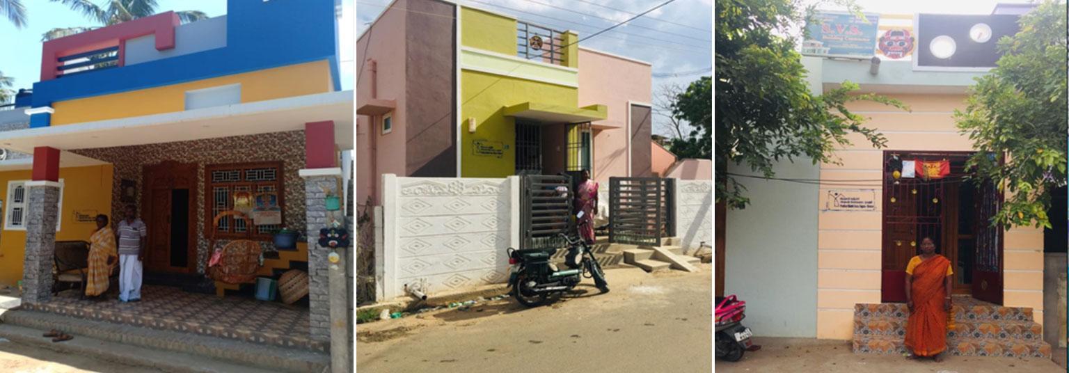 image of Karaikal-completed house under PMAY(U) scheme