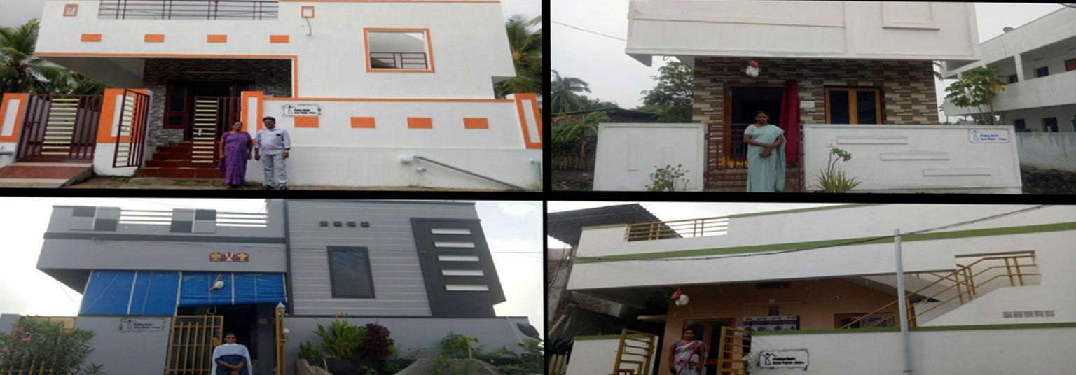 image of Yanam-completed house under PMAY(U) scheme