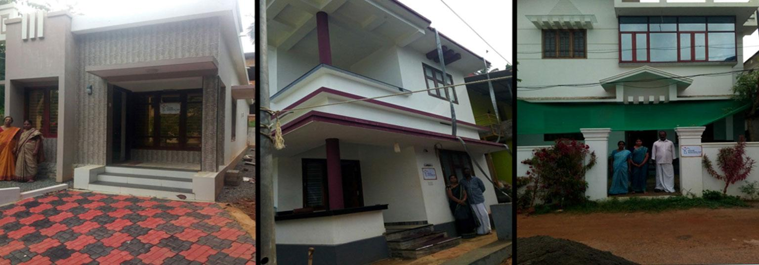 image of Mahe- completed house under PMAY(U) scheme